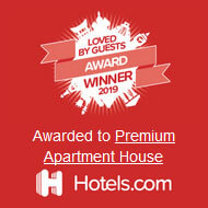 Hotels.com Loved by Guests award 2019